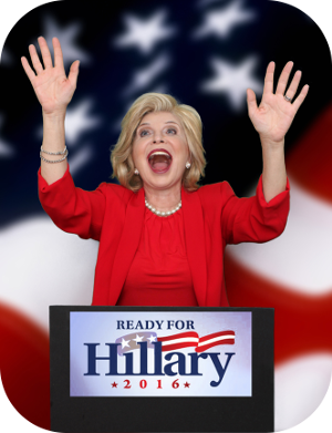 Hillary Clinton Impersonator